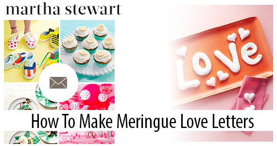 Make Meringue with Martha Stewart