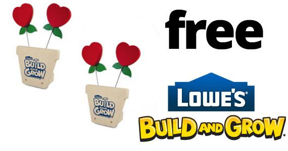Free Lowe's Kid Clinic 2/14