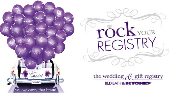 Wedding Gift Ideas Bed Bath Beyond : Free Bed Bath & Beyond Gift Bag For Creating Bridal Registry