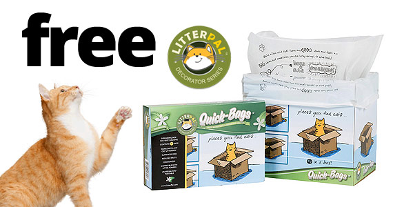 Free Litter Pal Corner Kits