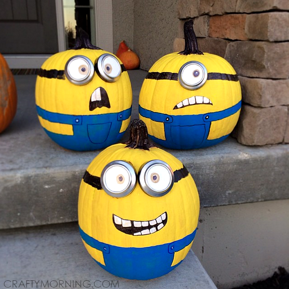 despicable-me-minion-no-carve-pumpkin-decorating1