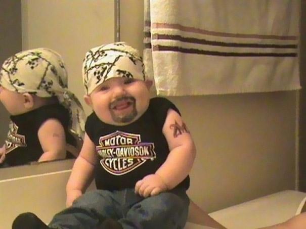 bebe motard