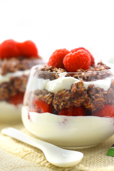 parfait overnight oats