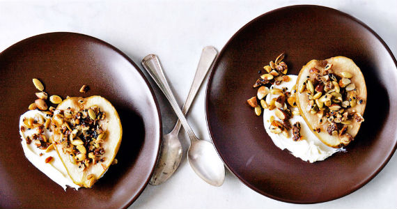 roasted-pear-crumble-
