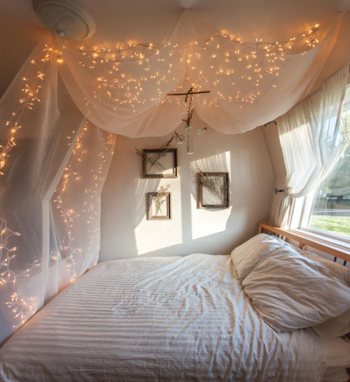 canopy bed lights
