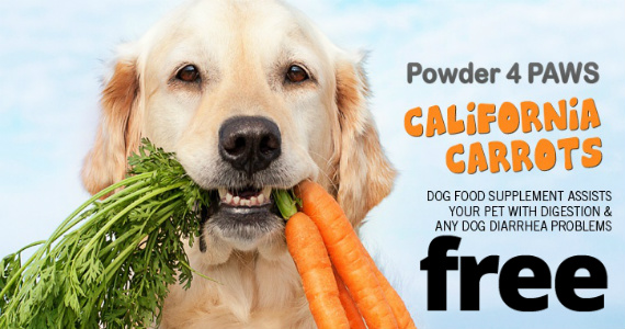 Free-Sample-Of-California-Carrots-Supplement-For-Dogs
