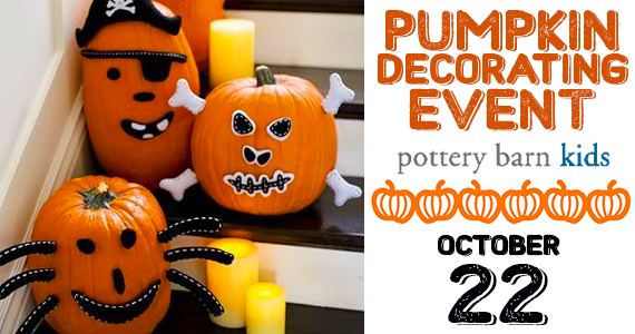 pumpkin-decorating-event