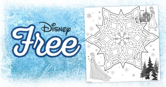 free-printable-anna-and-elsa-snowflake-maze